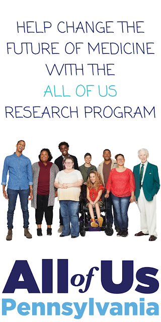 Help Change the Future of Medicine with the All of Us Research Program #JoinAllOfUs Sponsored http://bit.ly/2CT5dqi