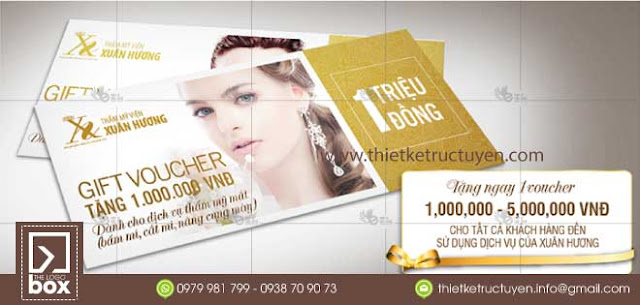 Thiết kế voucher