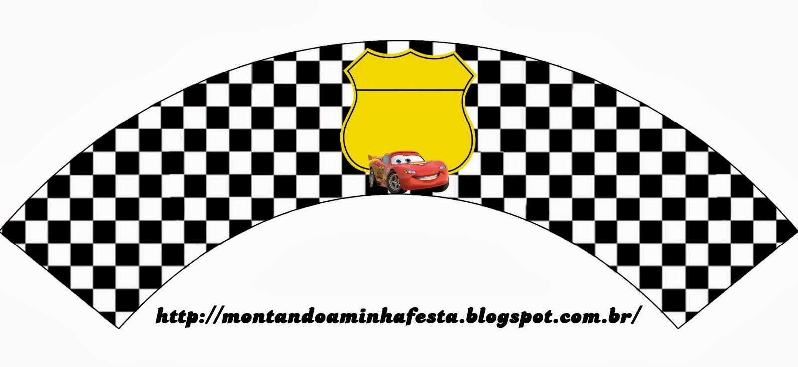 Free Printable Cars Cupcake Wrappers.