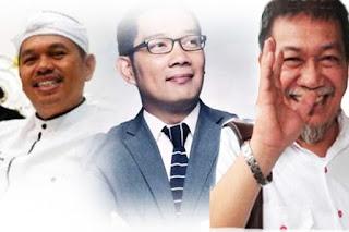 Dedi Mulyadi, Ridwan Kamil and Deddy Mizwar