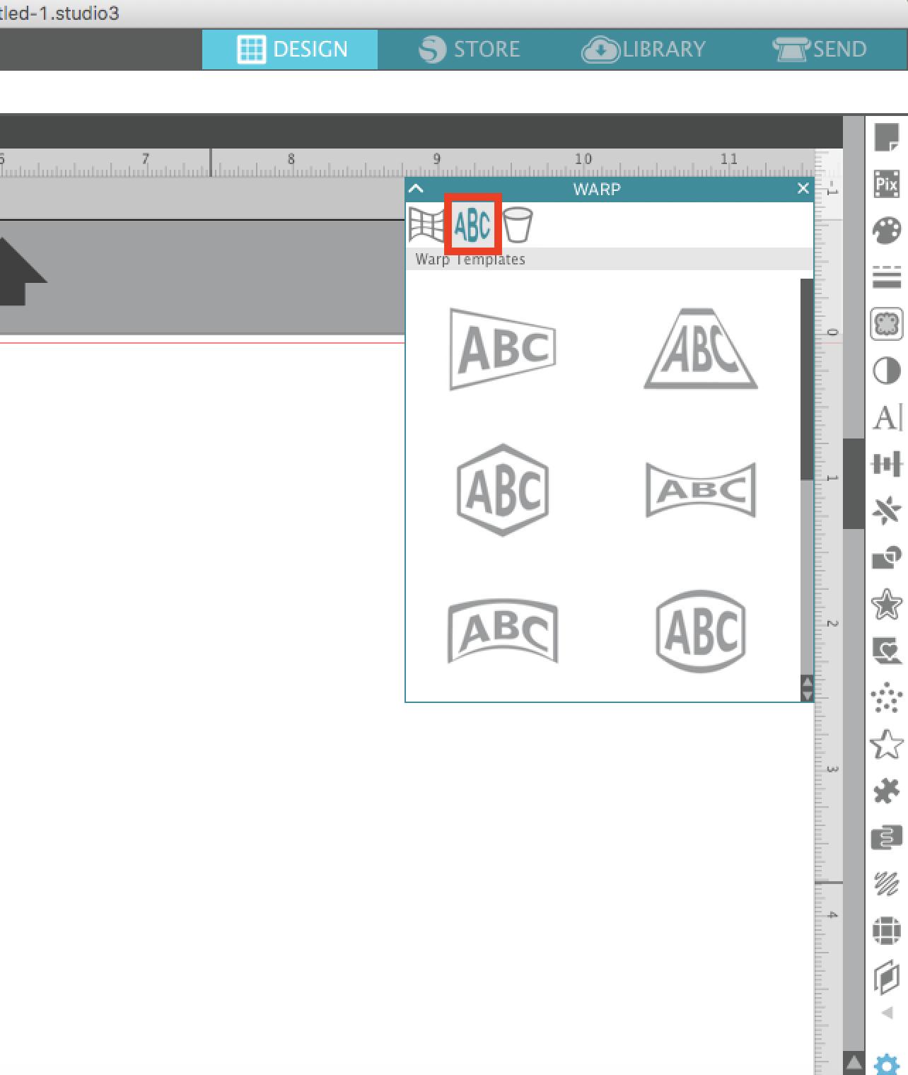 Word Art Templates | Word Art Was Never Easier Silhouette Studio Warp Template Tutorial