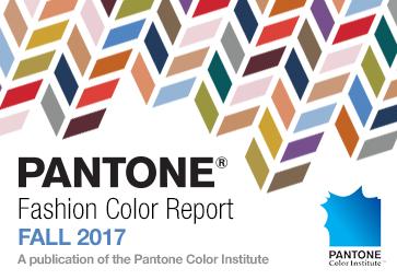 Pantone Fashion Color Report Fall Winter 2017