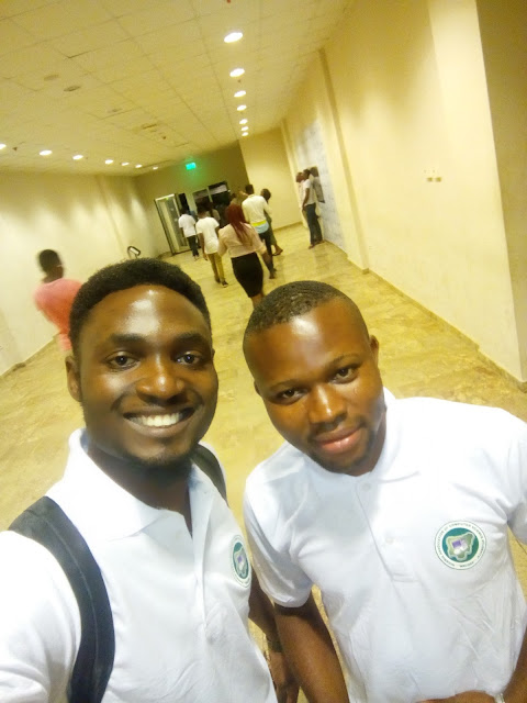 Lexhansplace and Peter Ebeogu (Nacoss President, NOUN)