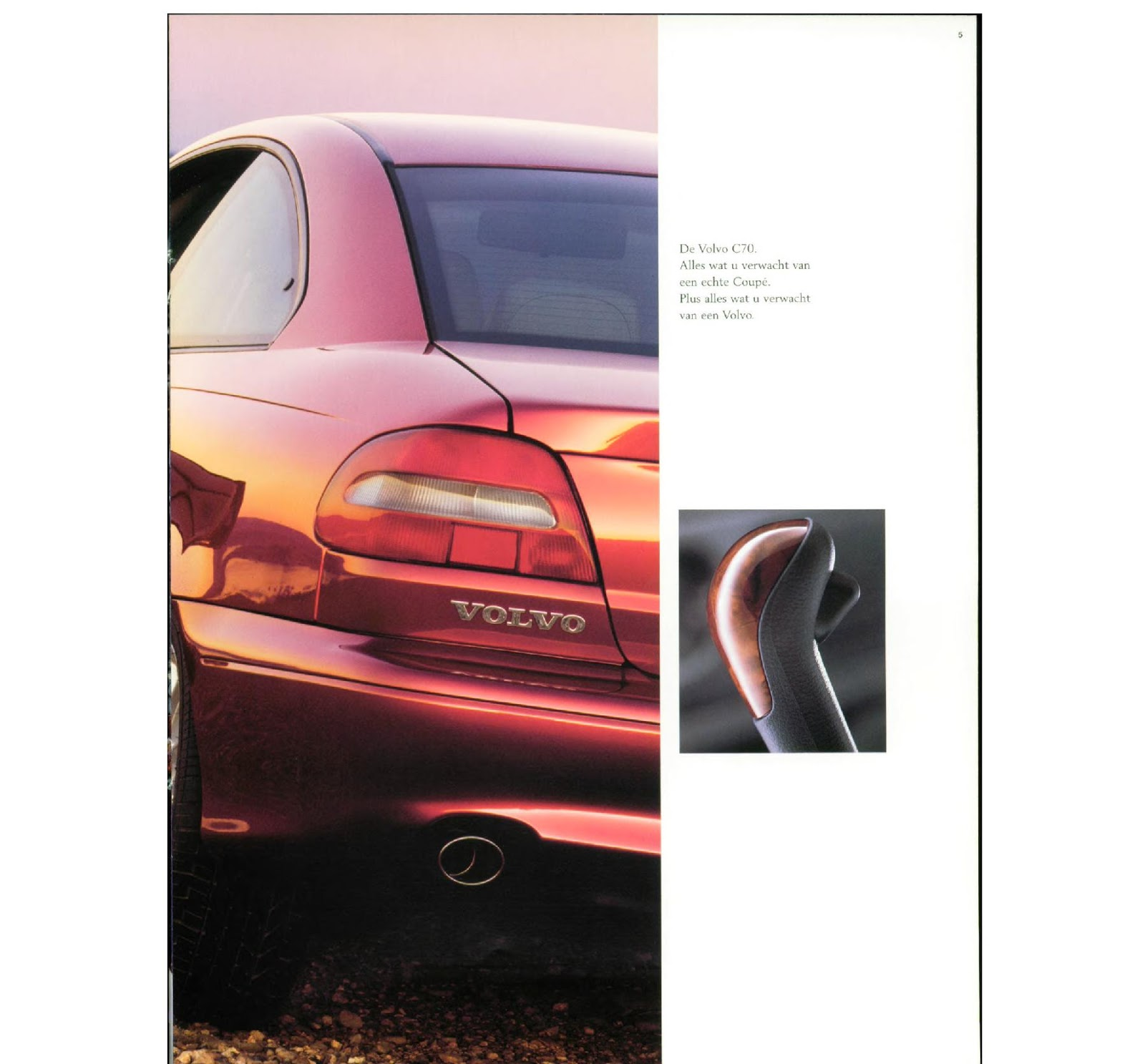 Download A Brochure For Volvo Models: My World Of Volvo: Volvo C70 Brochure (NL