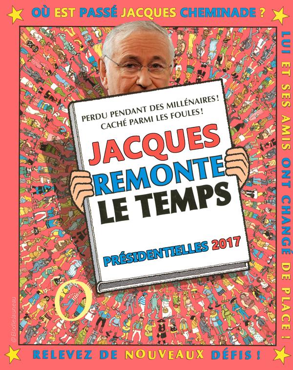 On cherche maintenant Jacques Cheminade...