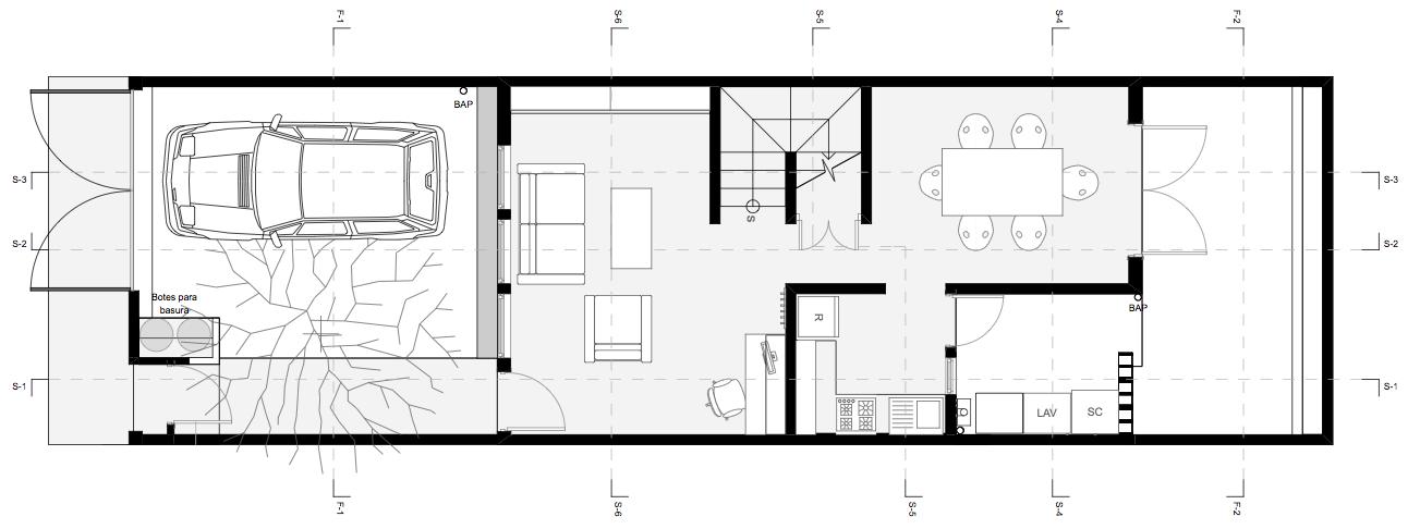 Arquitecturama mx proyecto de casa habitaci n for Proyecto casa habitacion minimalista