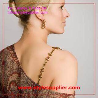 bra straps chain