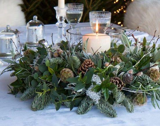 Διακοσμήστε εύκολα και καλαίσθητα το γιορτινό τραπέζι σας