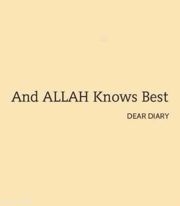 Lovely Islamic Quotes And Beautiful Thoughts By Dear Diary