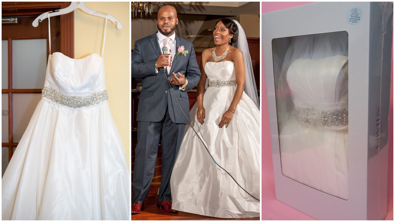 She's Wright : David's Bridal Gown Preservation Kit Review
