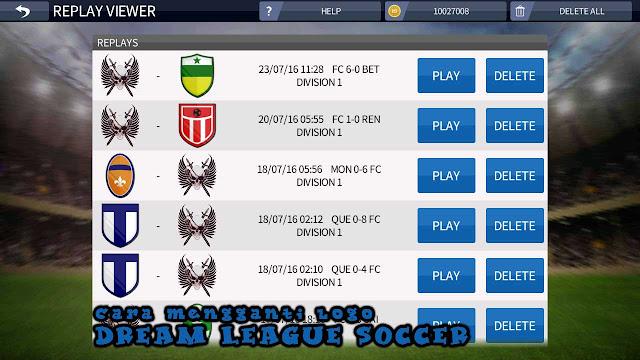 Cara Mengganti Logo Dream League Soccer