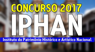 concurso IPHAN 2017