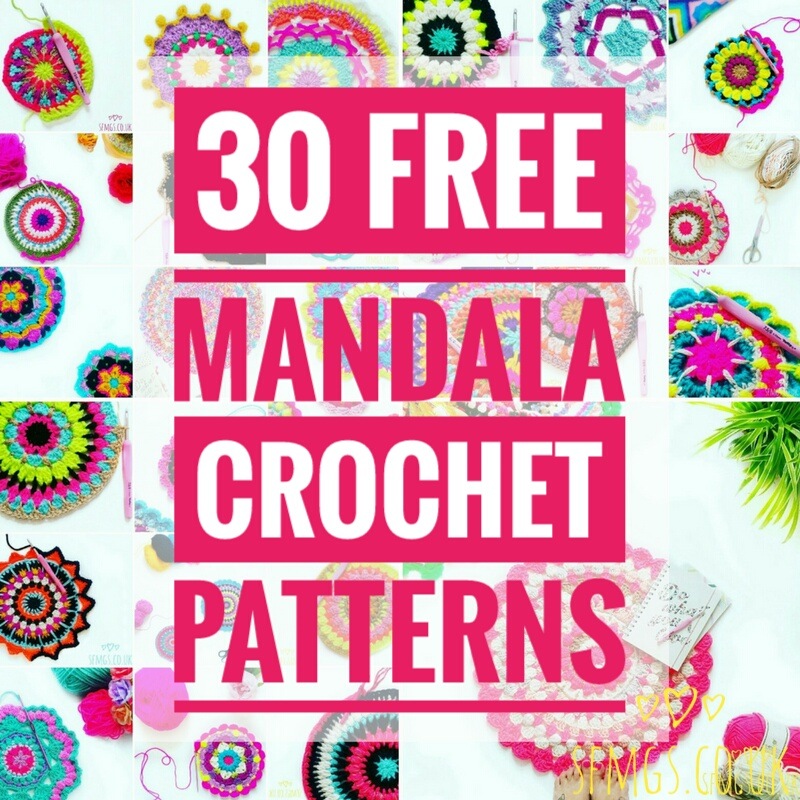 Set Free My Gypsy Soul A Crochet Craft Blog 60 Free Mandala New Free Crochet Mandala Pattern