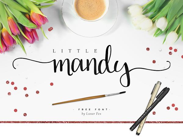 Download Little Mandy Brush Script Font Free