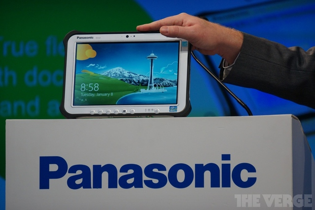 Panasonic unveils ToughPad FZ-G1, world's thinnest and lightest rugged Windows 8 tablet