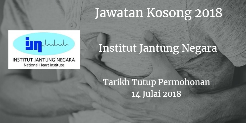 Jawatan Kosong IJN 14 Julai 2018