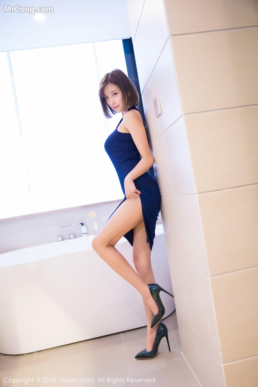 Image XIUREN-No.919-Yang-Chen-Chen-sugar-MrCong.com-004 in post XIUREN No.919: Người mẫu Yang Chen Chen (杨晨晨sugar) (55 ảnh)