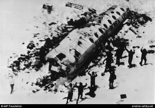 Ocaleni rozbitkowie z katastrofy samolotu w Andach