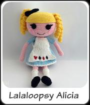 Lalaloopsy Alicia amigurumi