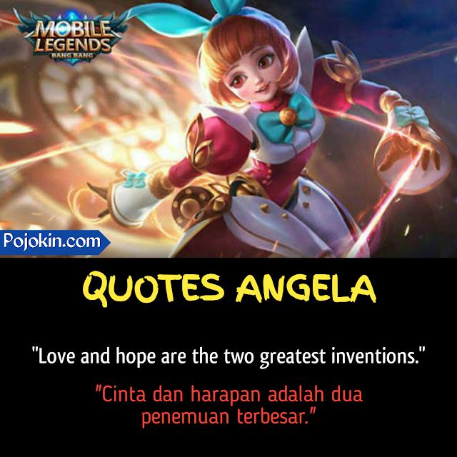 Suara dan kata-kata Angela Hero Mobile Legends