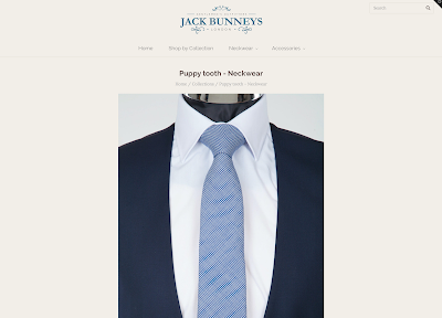 jack bunneys dog tooth, puppy tooth, houndstooth ties for weddings