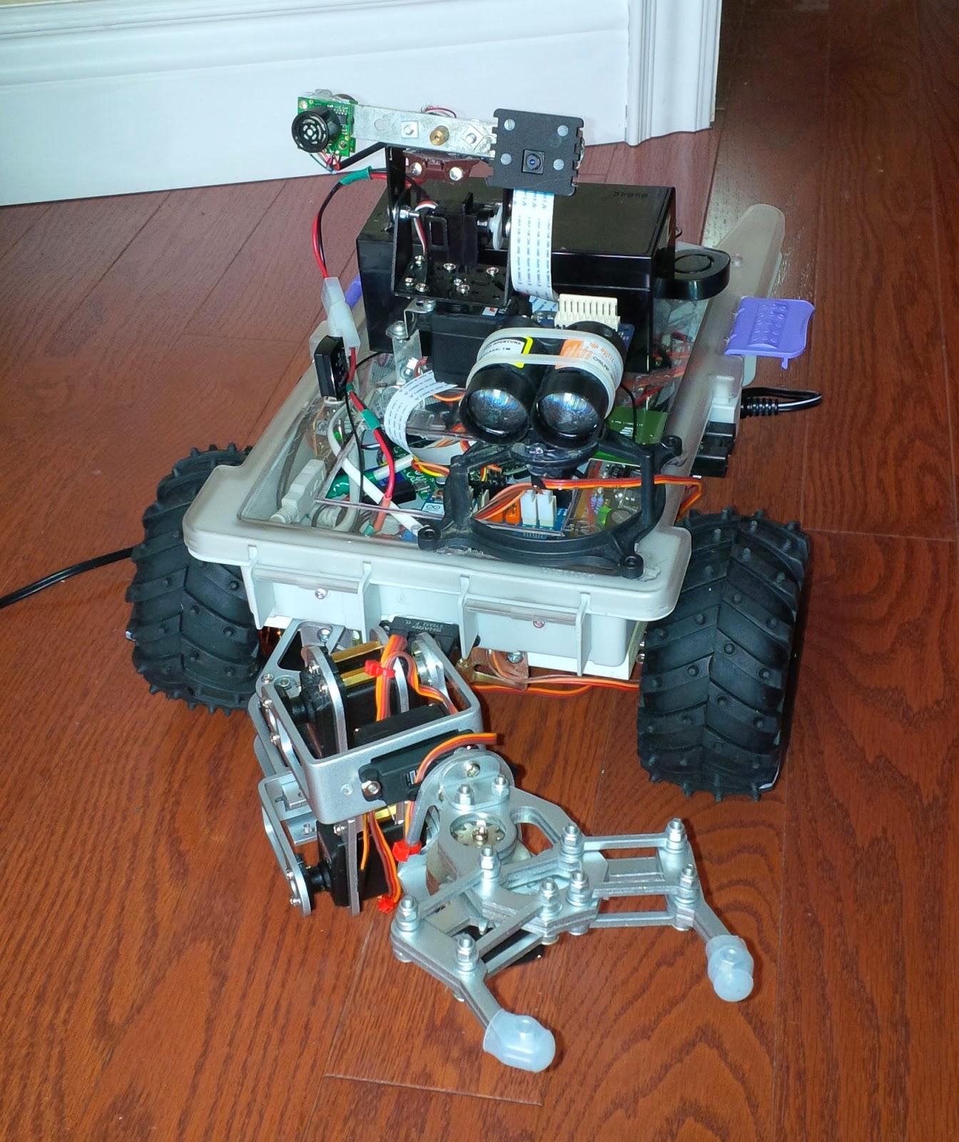 mars rover arduino - photo #16