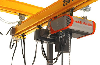 harga electric hoist krisbow