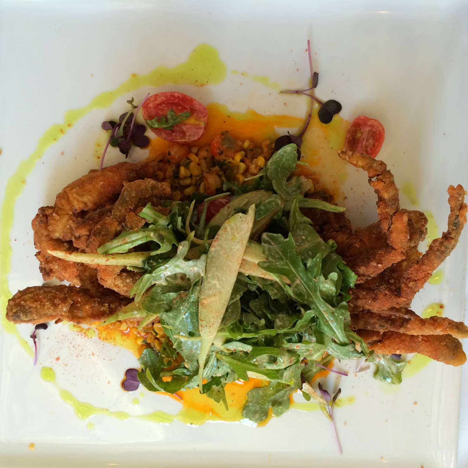 Louisiana Soft Shell Crab Crusted in Cornmeal