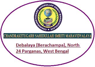 Chandraketugarh Sahidullah Smriti Mahavidyalaya, Debalaya (Berachampa), North 24 Parganas, West Bengal
