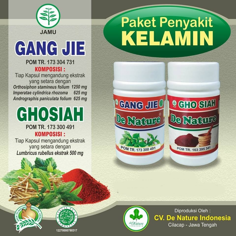 Obat Kamidia (Chlamydia) de Nature Herbal Ampuh