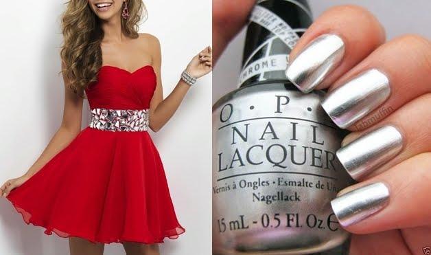Kırmızı Elbiseye Hangi Renk Oje Yakışır?