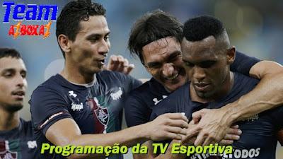 Programação da TV Esportiva ''Quinta'' 23/05/19