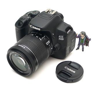 Canon 700D Lensa 18-55 STM SC Rendah