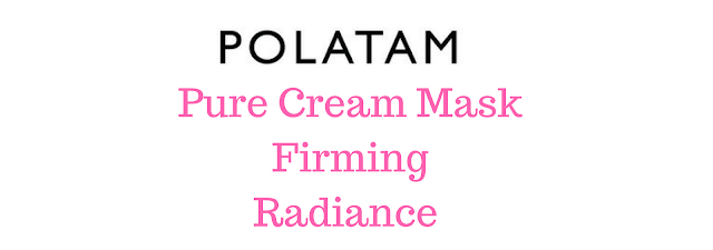 Polatam Pure Cream Mask Firming Radiance [Shibushi]