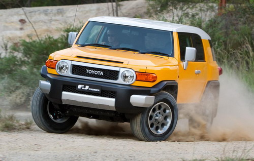 Toyota FJ Cruiser Indonesia