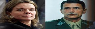 General manda recado direto e reto a Gleisi Hoffmann sobre o vídeo sem noção
