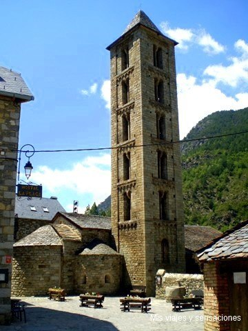 Iglesia de Santa Eulalia de Erill-la-Vall, Valle de Boi (Lérida)