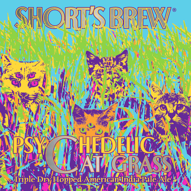 Short's Brewing Co. Announces 4th Release of Psychedelic Cat Grass, Without Delay IPA