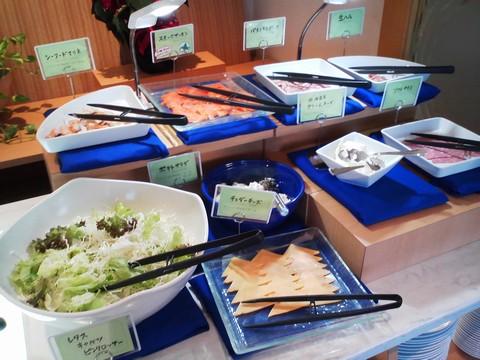 ビュッフェコーナー:前菜 オーセントホテル小樽カサブランカ