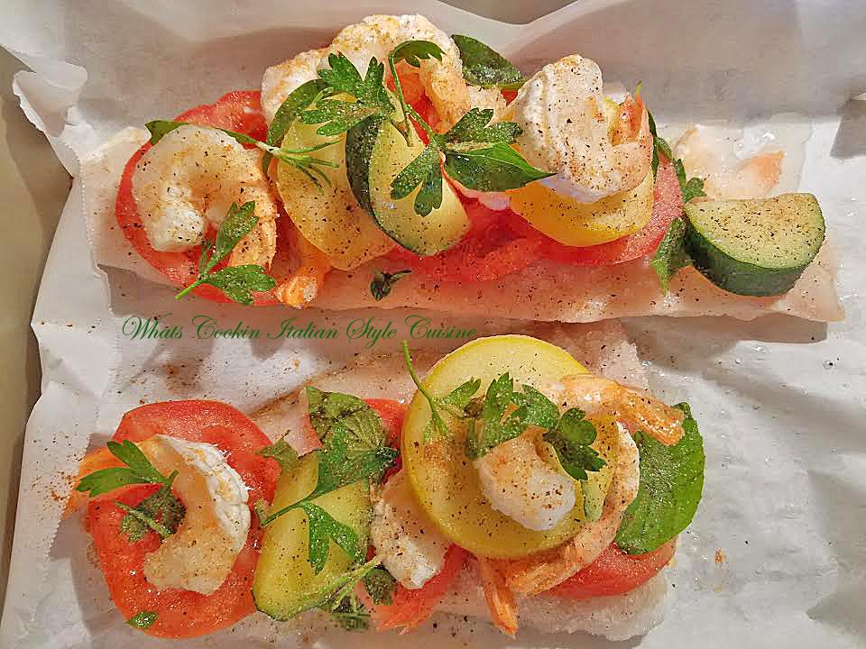 Baked Haddock Shrimp Zucchini Recipe