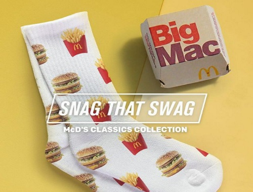 McDonalds Classics Snag That Swag Instagram Contest