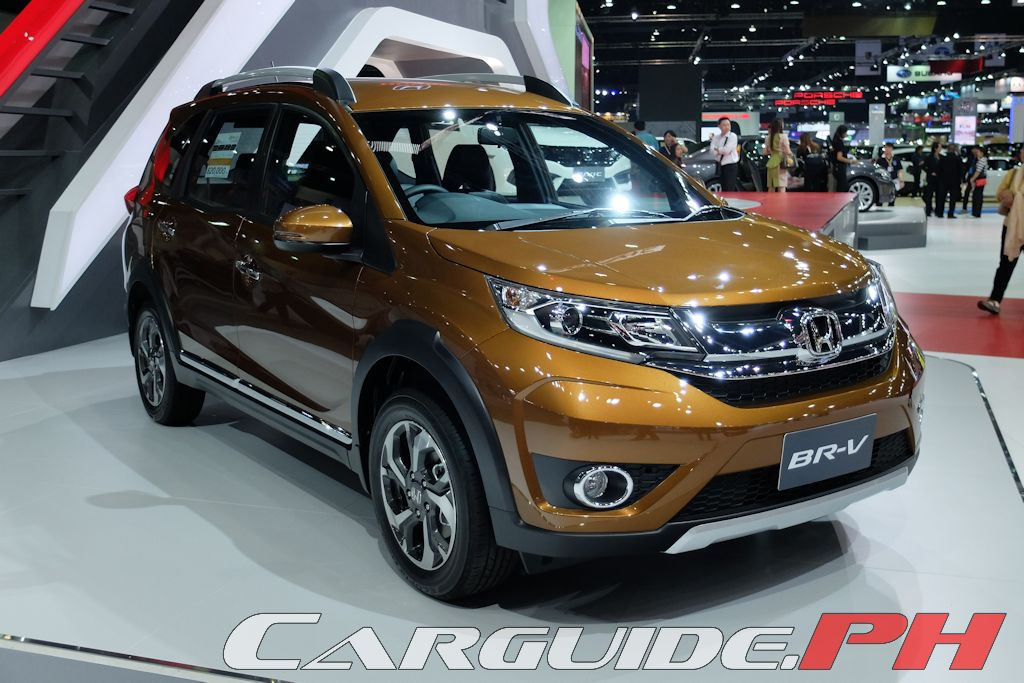 9 significant cars from the 2016 bangkok international for Honda brv philippines