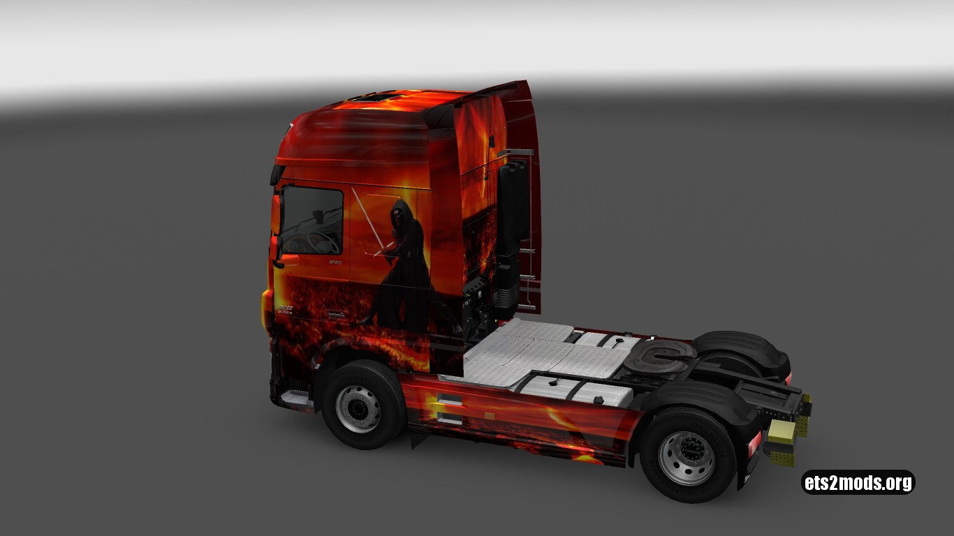 Star Wars for DAF Euro 6