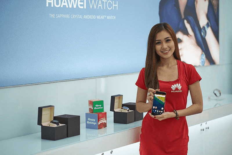 Huawei Launches Flagship Brand Shop In SM Cyberzone MOA! Showcased Mate S, Huawei Watch And Nexus 6P As Well!