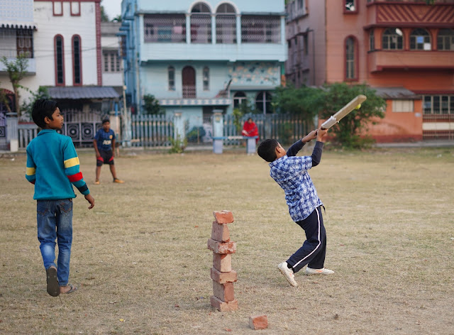 Nephew Rick Playing Cricket 14