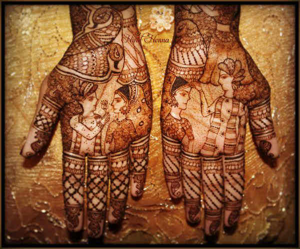 Mehndi Traditional Designs : Latest traditional indian mehndi designs pattern for hands