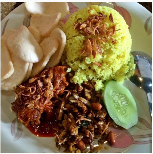 resep masakan nasi kuning khas banjarmasin resep masakan Resepi Nasi Kuning Banjar Enak dan Mudah
