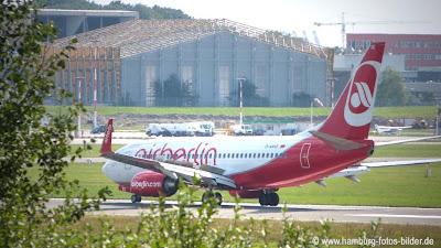 Flugzeug beim Landen beobachten