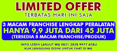 Limited Offer Promo Franchise Mall