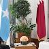 أمير دولة  #قطر يصادق على اتفاقيات تعاون مع #الصومال